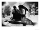 Angel of Death' Monument, East Sheen Cemetery, London Giclee Print by Simon Marsden