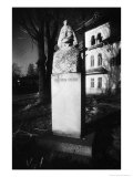 Bust of Vlad Dracul, Tirgoviste, Romania Giclee Print by Simon Marsden