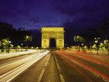 Traffic, Arc De Triomph, Paris, France Photographic Print by Stuart Westmorland