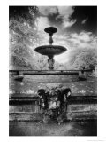 Fountain Below the Ruinenberg, Potsdam, Germany Premium Giclee Print by Simon Marsden