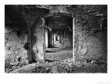 Interior of Bontida Castle, Transylvania, Romania Impressão giclée por Simon Marsden