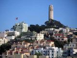 Coit Tower, San Francisco, CA Fotografisk tryk af Daniel McGarrah