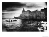 The Grand Canal Near the Basilica of Santa Maria Della Salute Giclee Print by Simon Marsden