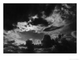 Stormy Sky, Yorkshire, England Giclee Print by Simon Marsden