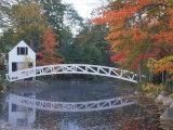 Foot Bridge, Mount Desert Island, Maine Photographic Print by Stephen Saks