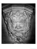 Green Man, Old Radnor Church, Powys, Wales Giclee Print by Simon Marsden