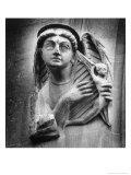 Figure, St Andrew's Church, Toddington, Gloucestershire, England Giclee Print by Simon Marsden