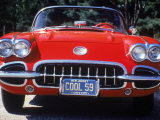 1959 Corvette Convertible Photographic Print by Jeff Greenberg