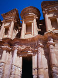 The Al Deir Monastery, Petra, Jordan Photographic Print by Lauree Feldman