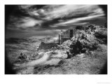 Peyrepertuse Chateau, the Pyrenees, France Giclee Print by Simon Marsden