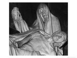 Funerary Monument, Notre Dame, Paris Giclee Print by Simon Marsden