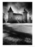 Combourg Chateau, Combourg, Brittany, France Premium Giclee Print by Simon Marsden