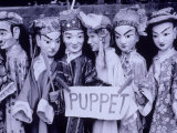 Chinese Puppets, Guangxi, China Photographic Print by Walter Bibikow