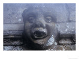 Gargoyle, Church of St Helen, West Keal, Lincolnshire, England Giclee Print by Simon Marsden