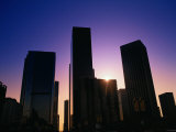 High Rise Buildings LA CA Photographic Print by Gary Conner
