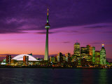 Toronto Skyline at Night, Canada Photographic Print by Jim Schwabel