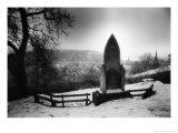 Birthplace of Vlad Dracul, Graveyard, Sighisora, Romania Giclee Print by Simon Marsden