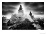 Castle Frankenstein, the Odenwald Valley, Germany Giclée-Druck von Simon Marsden