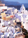 View of Santorini, Greece Photographic Print by Peter Adams