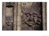 Heads, St Mary&#39;s Church, Beverley, Yorkshire, England Giclee Print by Simon Marsden