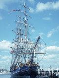 Hms Bounty Newport, Rhode Island Fotografie-Druck von Mark Gibson