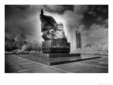 Statue of Ernst Thalmann, East Berlin, Germany Giclee Print by Simon Marsden