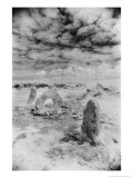 The Men-An-Tol or Holed Stone, Cornwall, England Giclee Print by Simon Marsden