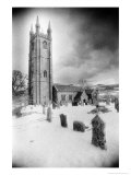 Widecombe-in-the-Moor Church, Dartmoor, Devon, England Giclee Print by Simon Marsden
