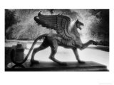 Bronze Griffin, Schloss Branitz, Cottbus, Brandenburg, Germany Giclee Print by Simon Marsden