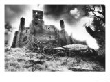Wingfield Manor, Derbyshire, England Giclee Print by Simon Marsden