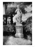 Statue at Waddesdon Manor, Buckinghamshire, England Giclee Print by Simon Marsden