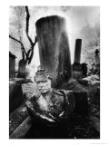 Tomb at Pere Lachaise Cemetery, Paris Giclee Print by Simon Marsden