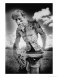 Statue at Duncombe Park, Yorkshire, England Giclee Print by Simon Marsden