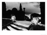 Gardens, Rothchilds Chateau, Cap Ferrat, France Giclee Print by Simon Marsden