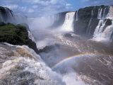 Salto Union, Iguazu Falls, Argentina Photographic Print by Walter Bibikow