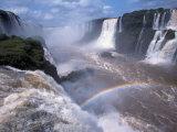 Salto Union, Iguazu Falls, Argentina Photographic Print by Walter Bibikow
