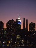 Midtown East Skyline at Dusk, NYC Photographic Print by Barry Winiker