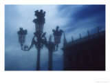 The Column of St Theodore and the Liberia Marciana, Piazzetta San Marco Giclee Print by Simon Marsden