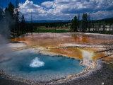 Firehole Spring, Yellowstone National Park, WY Reprodukcja zdjęcia autor Bob LeRoy