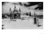 Carbury Castle and Graveyard, County Kildare, Ireland Giclee Print by Simon Marsden