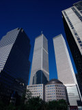 Twin Towers, NYC Photographic Print by Bud Freund