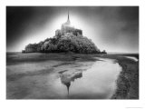 Mont-Saint-Michel, Normandy, France Reproduction procédé giclée par Simon Marsden