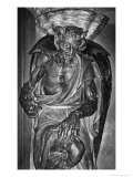 The Demon Asmodeus, the Church of St Mary Magdalen, Rennes-Le-Chateau, France Giclee Print by Simon Marsden