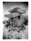 Knockeen Dolmen, County Waterford, Ireland Giclee Print by Simon Marsden