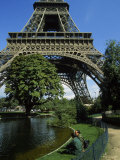 Eiffel Tower, Paris, France Photographic Print by James Lemass