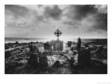 Crosspoint Cemetery, Belmullet, County Mayo, Ireland Reproduction proc&#233;d&#233; gicl&#233;e par Simon Marsden