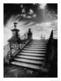Steps, Chateau Vieux, Saint-Germain-En-Laye, Paris Gicléedruk van Simon Marsden