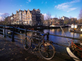 Amsterdam, Netherlands Fotodruck von Peter Adams