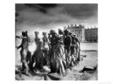 Statues Infront of the Neus Palais, Potsdam, Germany Premium Giclee Print by Simon Marsden