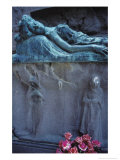 The Tomb of Sonia Kaliensky, the Island Cemetery of San Michele Giclee Print by Simon Marsden